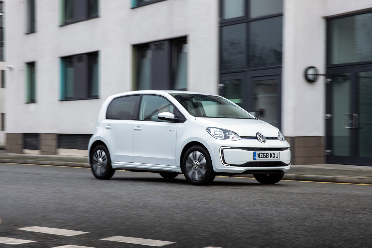 Volkswagen e-Up! Gets £3,250 Value Boost